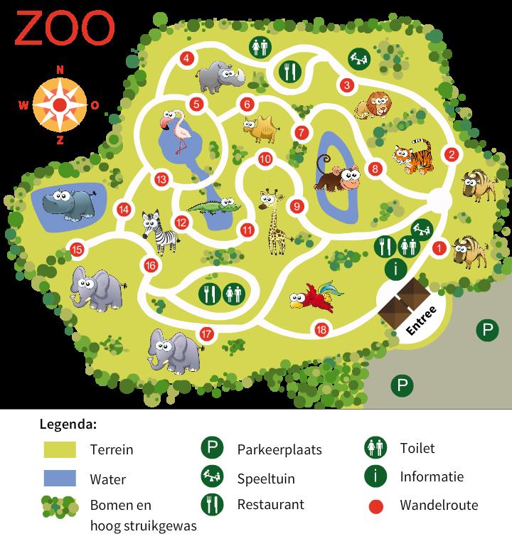plattegrond dierentuin kleurplaat 28 afbeeldingen